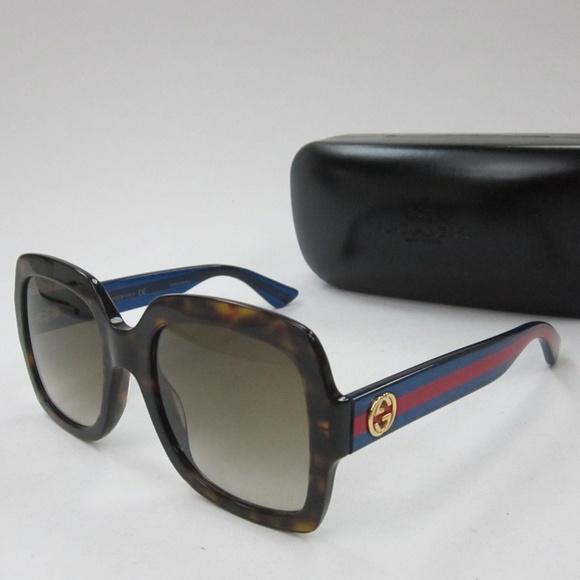 fe93305073fa9 Gucci Accessories - Gucci GG 0036S 004 Women s Sunglasses Italy OLN131